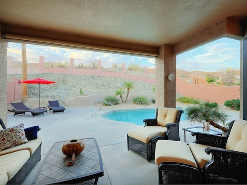 Great Place to stay Luxe Mountain-view 4BR w/ Chefs Kitchen & Private Poolnear Hiking, Golf near Phoenix