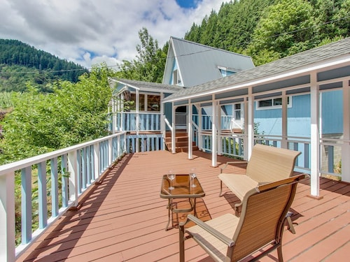 Check Expedia for Availability of Multi-level Riverfront Home W/dock Welcomes Families, Groups, & Dogs!