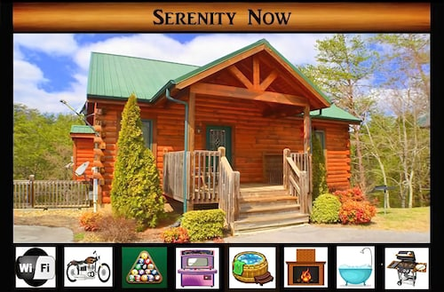 Serenity Now } Hot Tub / Pool Table / Buck Hunter & Cocktail Arcade Table / 2 Minutes From Parkway