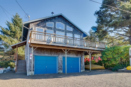 Check Expedia for Availability of Cozy, Family-friendly Beach Home w/ Ocean & Lake Views Plus Outdoor Fire pit