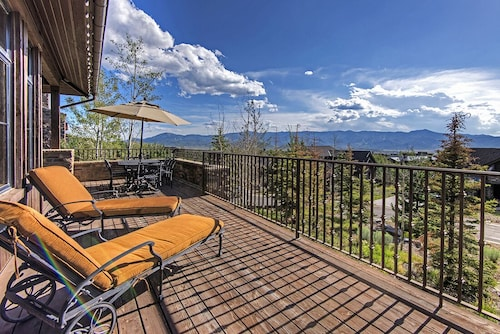 Great Place to stay 4BR Luxury Ranch Cabin, Hot Tub, Fire Pit, Walk to Promontory Club Amenities near Park City