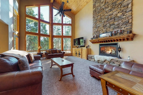 Check Expedia for Availability of Spacious ski Lodge-style Home w/ Deck & Game Room - six Miles to Shaver Lake