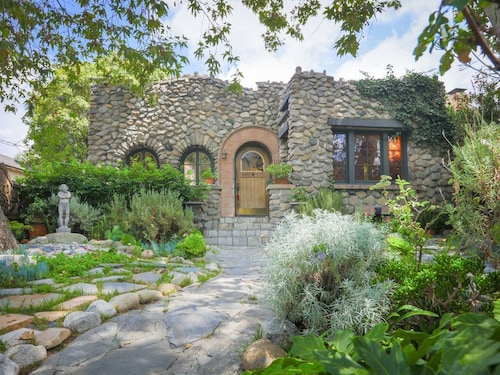 Great Place to stay Historic 3BR Stone Cottage w/ Pool & Outdoor Living Areas near North Hollywood