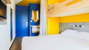 Soundproofing, free WiFi, bed sheets, wheelchair access