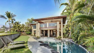 Ocean Front Island Home Pool Gated Kona Bay Estates Vista Oceania