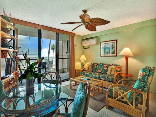 Pacific View+island Style! Full Kitchen, Lanai, Washer/dryer, Wifi, Ackona Reef B14