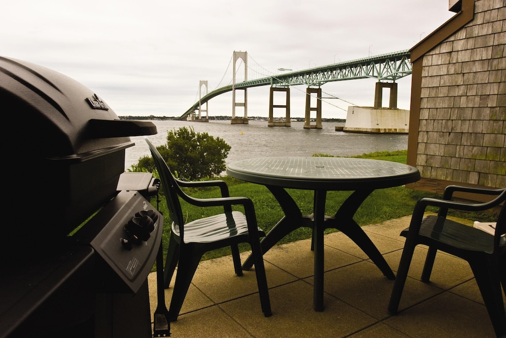 BBQ/Picnic Area, Charming Condos Overlooking Narragansett Bay w/ Outdoor Resort Pool, Hot Tub & Free Parking