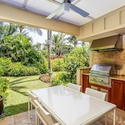 Palm Tree Haven, one Bedroom, two Bathroom Luxury Condo With Garden View, Golf Nearby, Palm Villa I3, In Mauna Lani