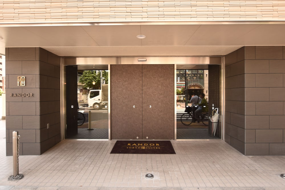 Front of Property, Randor Residence Tokyo Suites