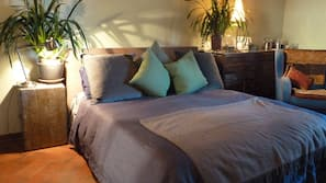 Down duvets, memory-foam beds, free minibar items, in-room safe
