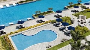 야외 수영장, 07:00 ~ 19:00 오픈, 무료 카바나, 수영장 파라솔