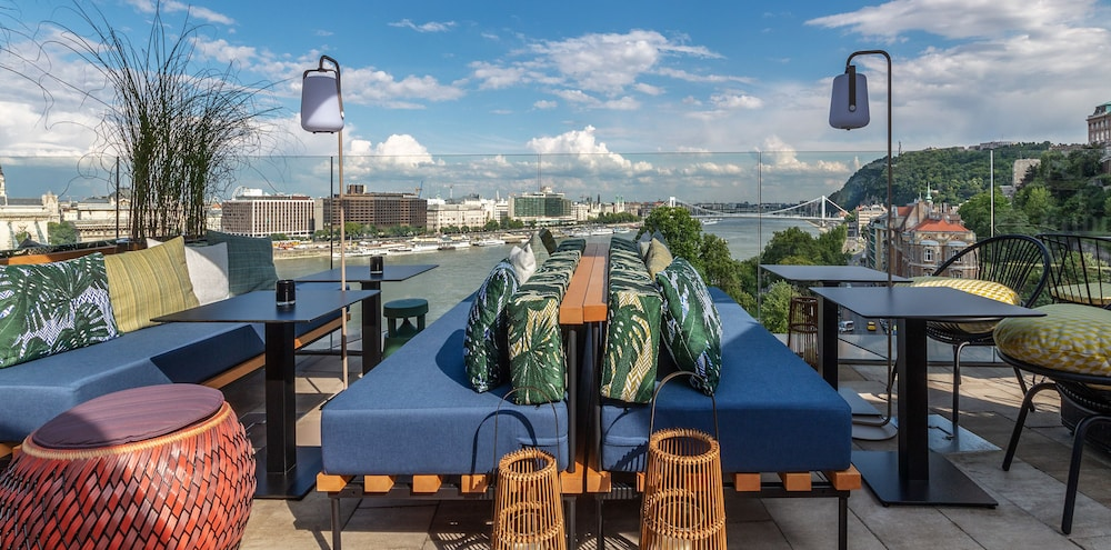 Terrace/Patio, Hotel Clark Budapest- Adults Only