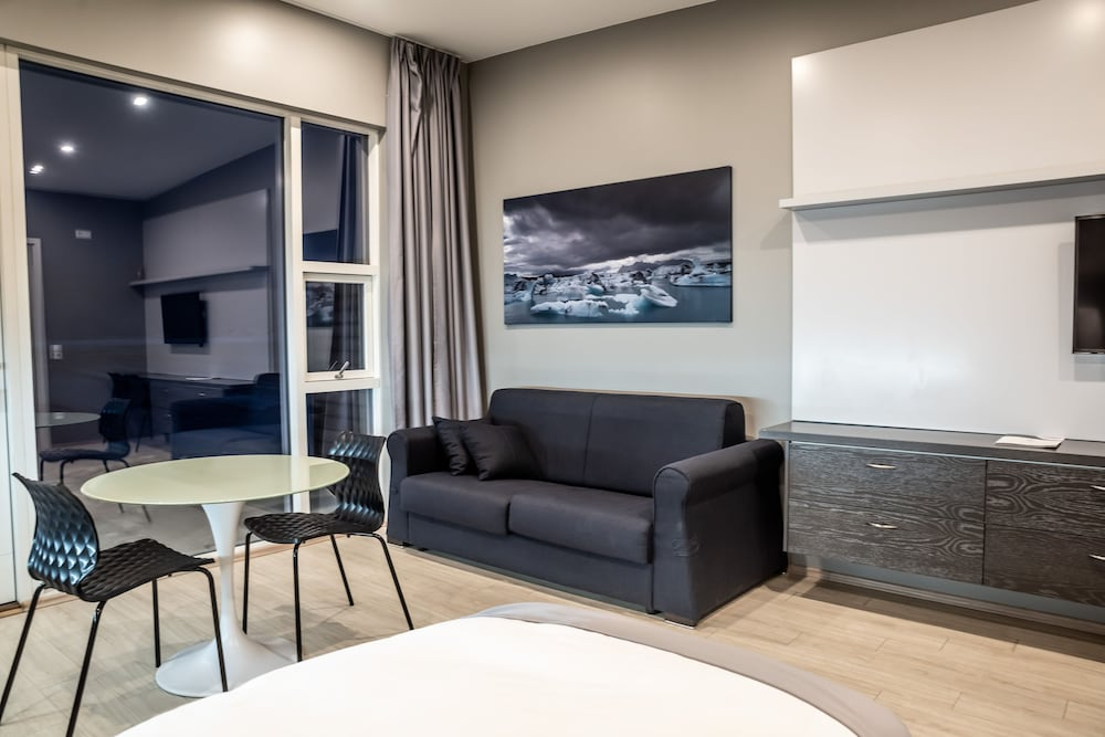 Living Room, Black Beach Suites