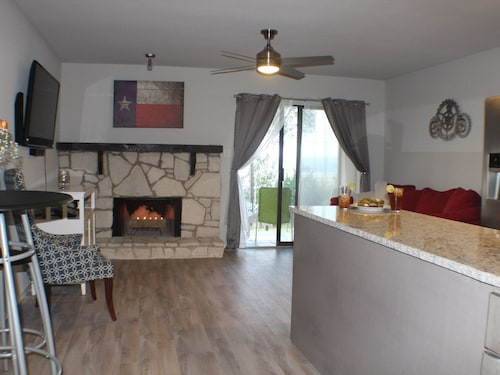 Great Place to stay Sleek Modern Updates Throughout This 1 Bedroom Lakeside Retreat near Canyon Lake