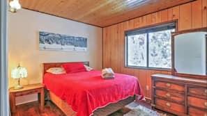3 間臥室、窗簾、熨斗/熨衫板、免費 Wi-Fi