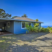 Peaceful 'holualoa Hale' Home w/ Ocean Views!
