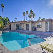 New! 3BR Palm Springs Home w/ Pool Mins From Golf!