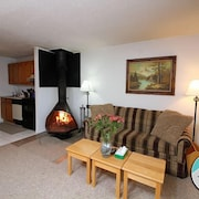 Great Location! One Bedroom Condo on the Shuttle Route & ski Back Trail