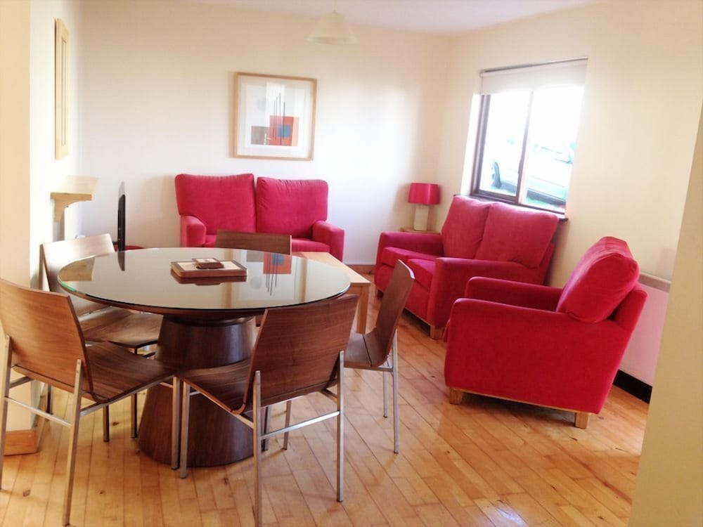 Living Room, 2 Bedroom Courtyard House Located in Courtown Harbour