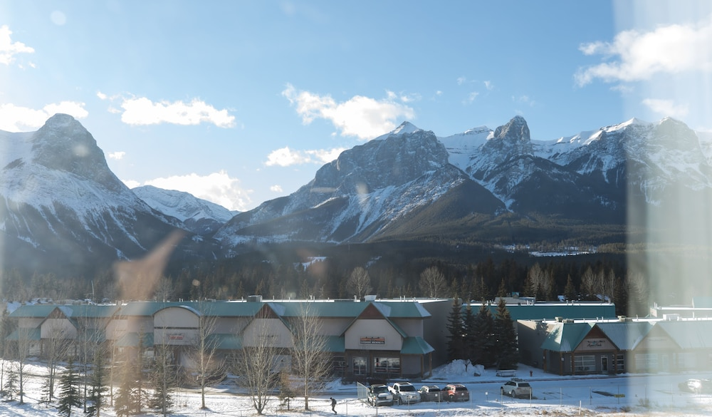 View from Room, Super 8 by Wyndham Canmore