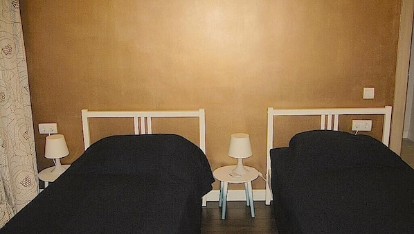 2 dormitorios, Internet, ropa de cama