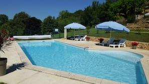 Außenpool, beheizter Pool