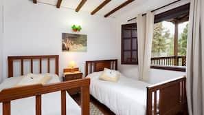 2 soveværelser, internetforbindelse, sengetøj