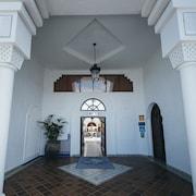 Hotellets indgang