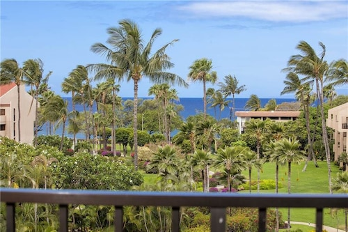 Kamaole Sands 2 Bdrm With Partial Ocean Views at Kamaole Sands in South Kihei. 5-406