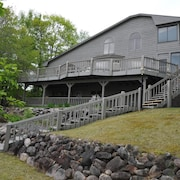 Sandy Beach on Lower Whitefish. 3400 Sqft