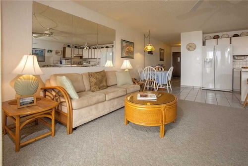 Comfortable 1 Bdrm Condo Located Across From Kamaole Beach 1 at Kihei Alii Kai 207