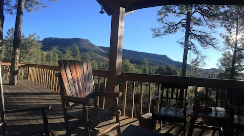 Check Expedia for Availability of Family Friendly Log Cabin With A View Of The Mogollon Rim