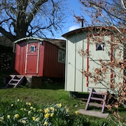 Balranald Shepherds Huts Self Catering