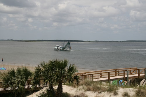 Great Place to stay Sandpiper - Beautiful 2nd Floor Beach Front View near Tybee Island