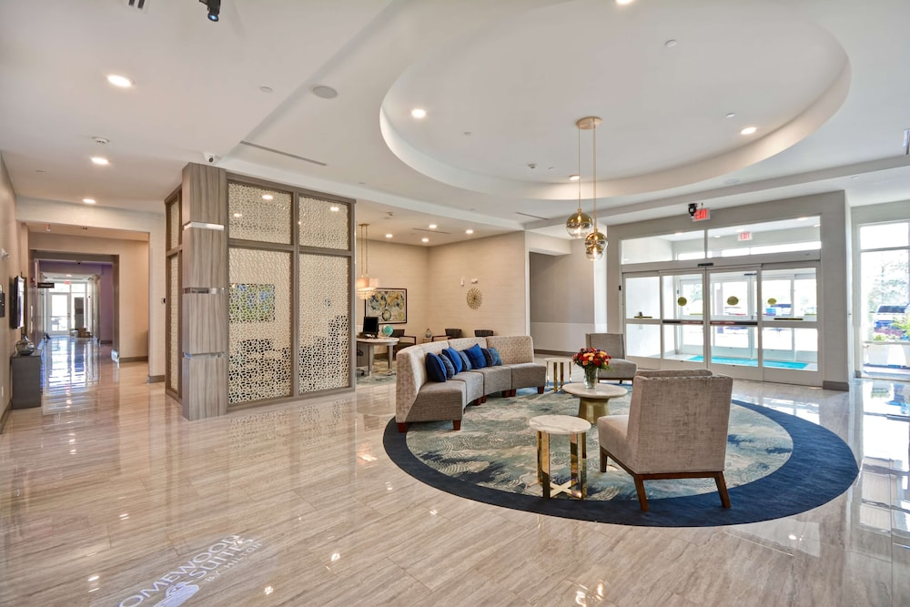 Lobby, Homewood Suites by Hilton Conroe
