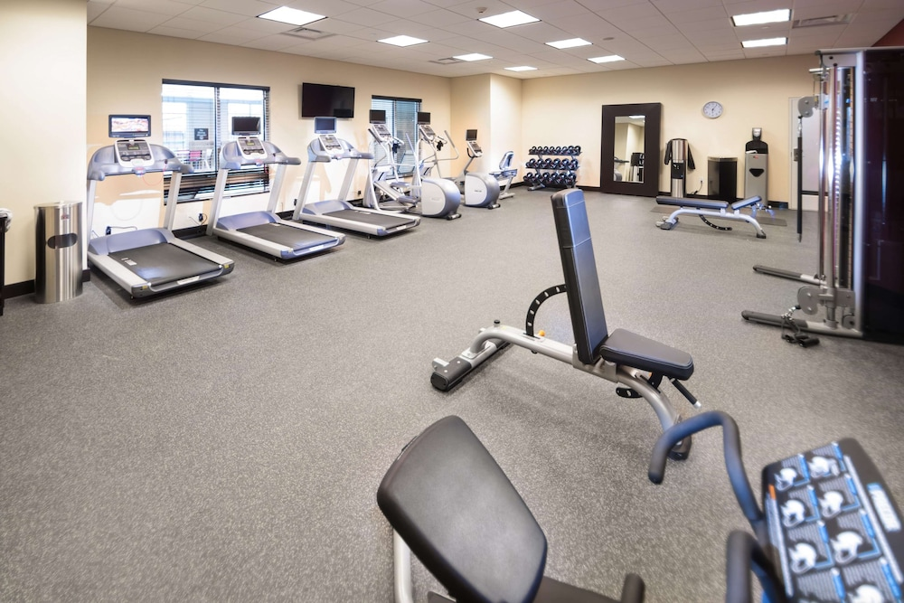 Fitness Facility, Homewood Suites by Hilton Tulsa Catoosa