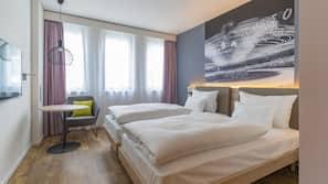 1 camera, biancheria da letto ipoallergenica, cassaforte in camera