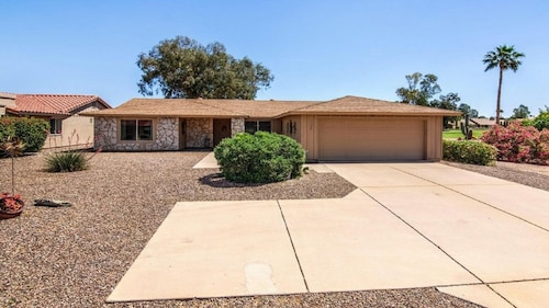 Check Expedia for Availability of Gorgeous On the 1st Fairway of Coyote Run Golf Course Leisure World Mesa,