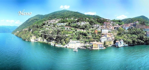 Apartment Tivan on the Shore of Lake Como With Dream Garden