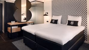 In-room safe, laptop workspace, free WiFi, bed sheets