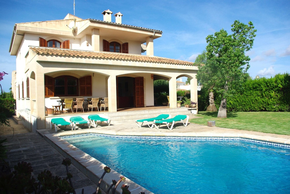 Beach and Relax in House With Private Garden and Pool in Sa Rapita ...
