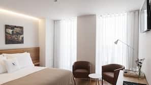 Coffres-forts dans les chambres, bureau, Wi-Fi gratuit, draps fournis