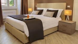 Frette Italian sheets, premium bedding, down comforters