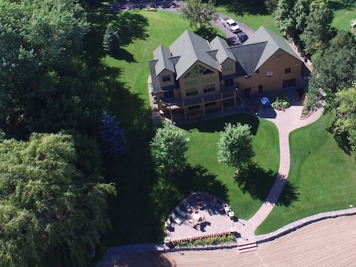 Spacious Lake Home on Private Resort-like Beach, One Hour From Mpls!