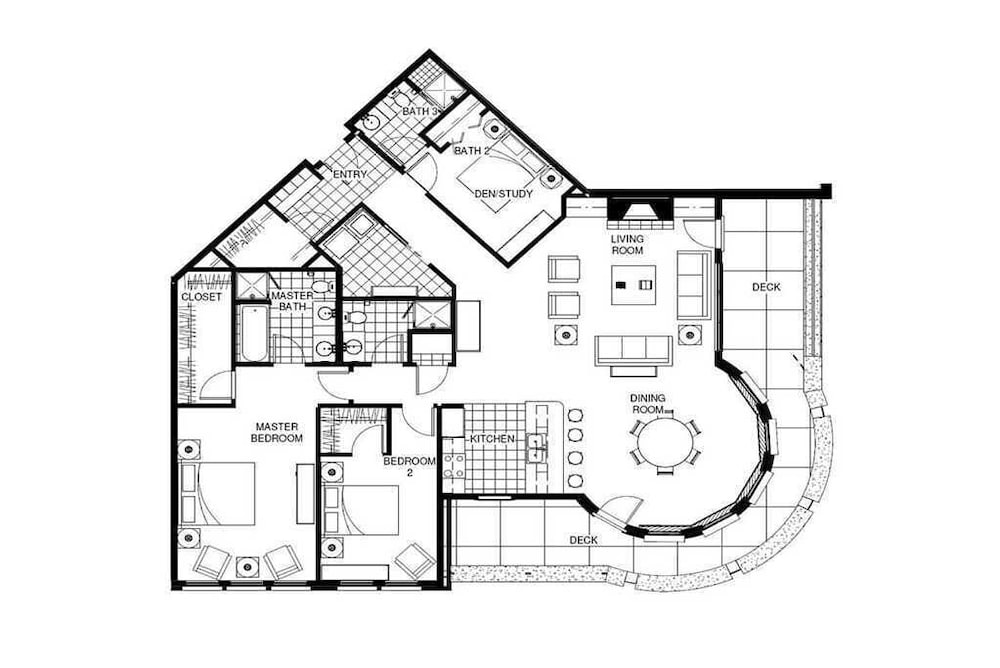 Floor plan, H208b by Pioneer Ridge: Perfect Location + Free City Bus + Luxury Residence