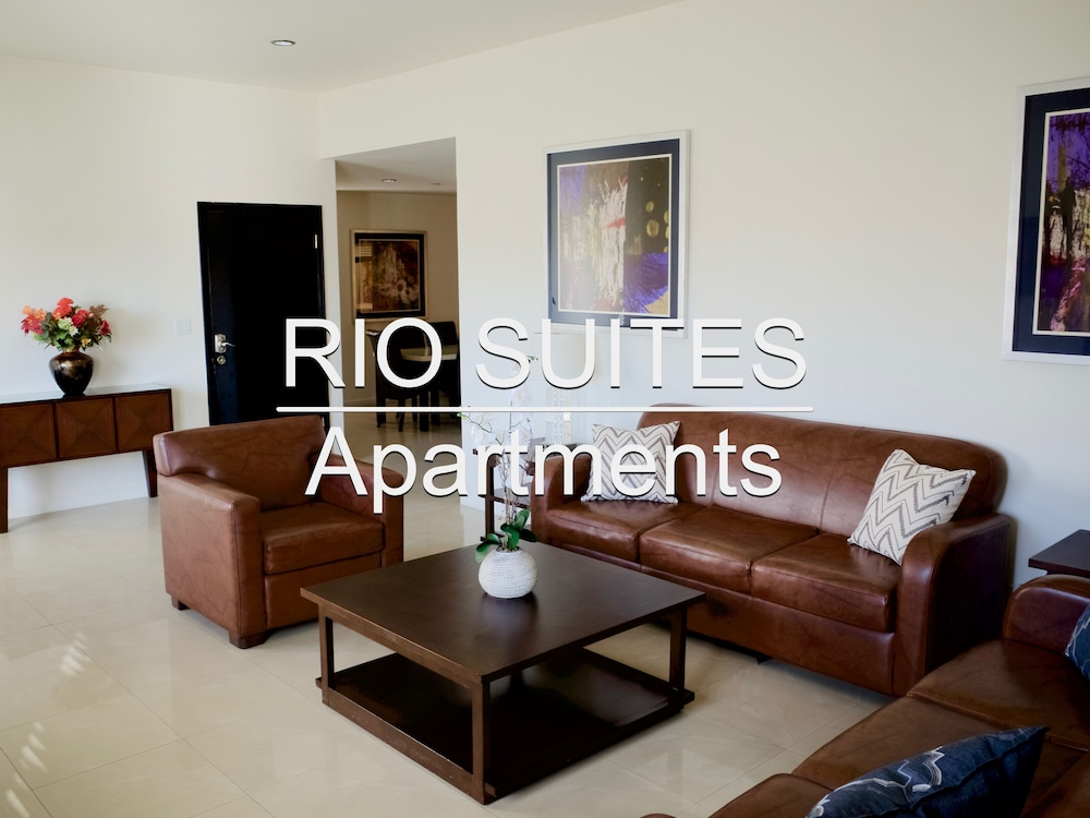 Living Area, Rio Suites Apartments & Extended Stays