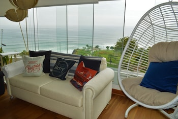 Modern Miraflores Apartment Ocean View