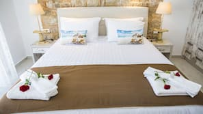 1 bedroom, Egyptian cotton sheets, hypo-allergenic bedding
