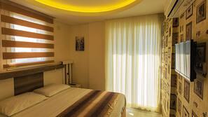 1 Schlafzimmer, hochwertige Bettwaren, Select-Comfort-Betten
