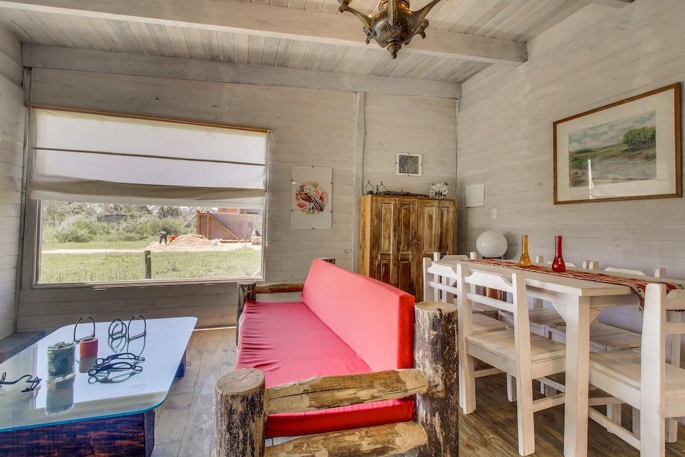 Cabaña Rústica Con Terraza Y Patio En Santa Mónica In Jose